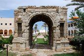 Triumphal arch of Marcus Aurelius in Tripoli