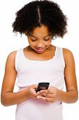 Girl Text Messaging