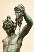 stock photo of medusa  - Perseus with the head of Medusa - JPG