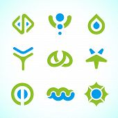 Vector Abstract Symbols Collection