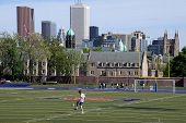 College Soccer Field