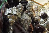 lamp shades, Morocco