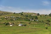 stock photo of zulu  - Rural zululand - JPG