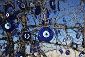 293 Evil-Eye Pendant Tree In Turkey