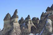 Fairy Chimney On Capadocia Turkey