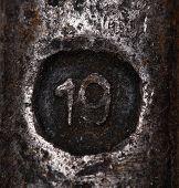 Metal Number 19.