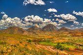 Landscape To Andringitra Mountain Range At Ihosy, Madagascar poster