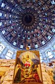 Cupola Inside Voskresensky Church, New Jerusalem Monastery - Russia
