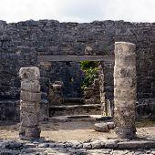 Mayan Portal At Tulum