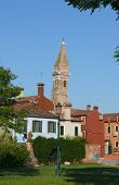 Venice, Burano Island , Small Colored Houses, Italy, Europe