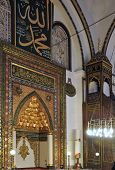 The Imam's Station Grand Mosque Bursa Turkey