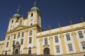 Basilica Of Our Lady Of Visitation In Olomouc (czech Republic). Horizontally.