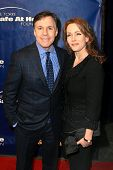 NEW YORK-JAN 24: Bob Costas and wife Jill attend the 10th Anniversary Joe Torre Safe At Home® Found