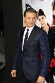 LOS ANGELES - JAN 23: Jeremy Renner at the LA premiere of Paramount Pictures' 'Hansel And Gretel: Wi