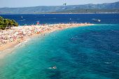 Golden Cape on Brac island, Croatia
