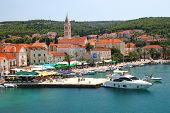Supetar on Brac island, Croatia