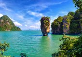 stock photo of james bond island  - Thailand nature - JPG