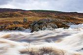 Água em Rannoch Moor