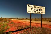 image of road sign  - Standard road sign in Western Australia  - JPG