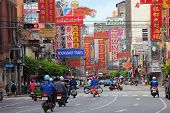 Thailand,bangkok - Oct 28:yaowarat Road,the Main Street In Chinatown, Once Of Bangkok Landmark And I