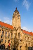 Rathaus Charlottenburg - Administrative Building In The Charlottenburg-wilmersdorf Borough