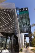 Aria Resort Sign In Las Vegas, Nv On April 19, 2013