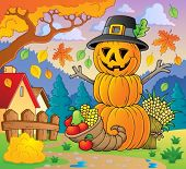 Thanksgiving theme image 2 - eps10 vector illustration.