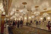 Paris Hotel Lobby In Las Vegas, Nv On June 26, 2013