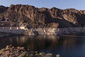 Low Water At Lake Mead, Nevada.