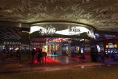 Beatles Love Show Entrance At The Mirage In Las Vegas, Nv On August 11, 2013