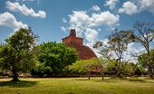 Abhayagiri - Major Monastery Site Of Theravada Buddhism That Was Situated In Anuradhapura, Sri Lanka