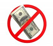 No Money Symbol