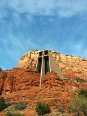 foto of chapels  - Chapel of the Holy Cross in Sedona - JPG
