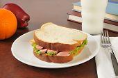 Vienna Sausage Sandwich
