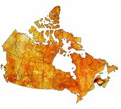 New Brunswick On Map Of Canada
