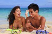 young island couple
