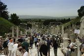 Scenic View Of Ephesus Site