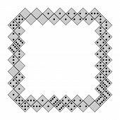 Domino frame