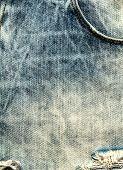 Jeans Texture Background. Jeans Textile Canvas Background Close Up
