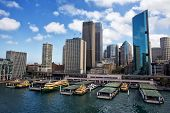 Ferries in Circular Quay, Sydney