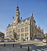 Brussels, Belgium-march 14: Town Hall Of Shaerbeek, Brussels On March 14, 2014 In Brussels.