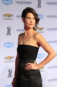LOS ANGELES - MAR 13:  Cobie Smulders at the