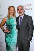 LOS ANGELES - MAR 11:  Lauren Bowles, Patrick Fischler at the Television Academy's 23rd Hall Of Fame