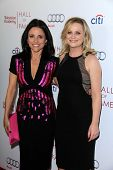 LOS ANGELES - MAR 11:  Julia Louis-Dreyfus, Amy Poehler at the Television Academy's 23rd Hall Of Fam