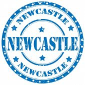 Newcastle-stamp