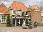 Restaurant In The Dutch Town Of Heusden