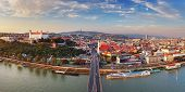 Bratislava Panorama - Slovakia