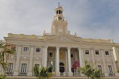City Hall Of Cadiz