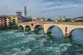 Ponte Pietra Bridge, Verona, Italy