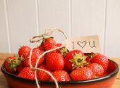 Strawberries from the heart